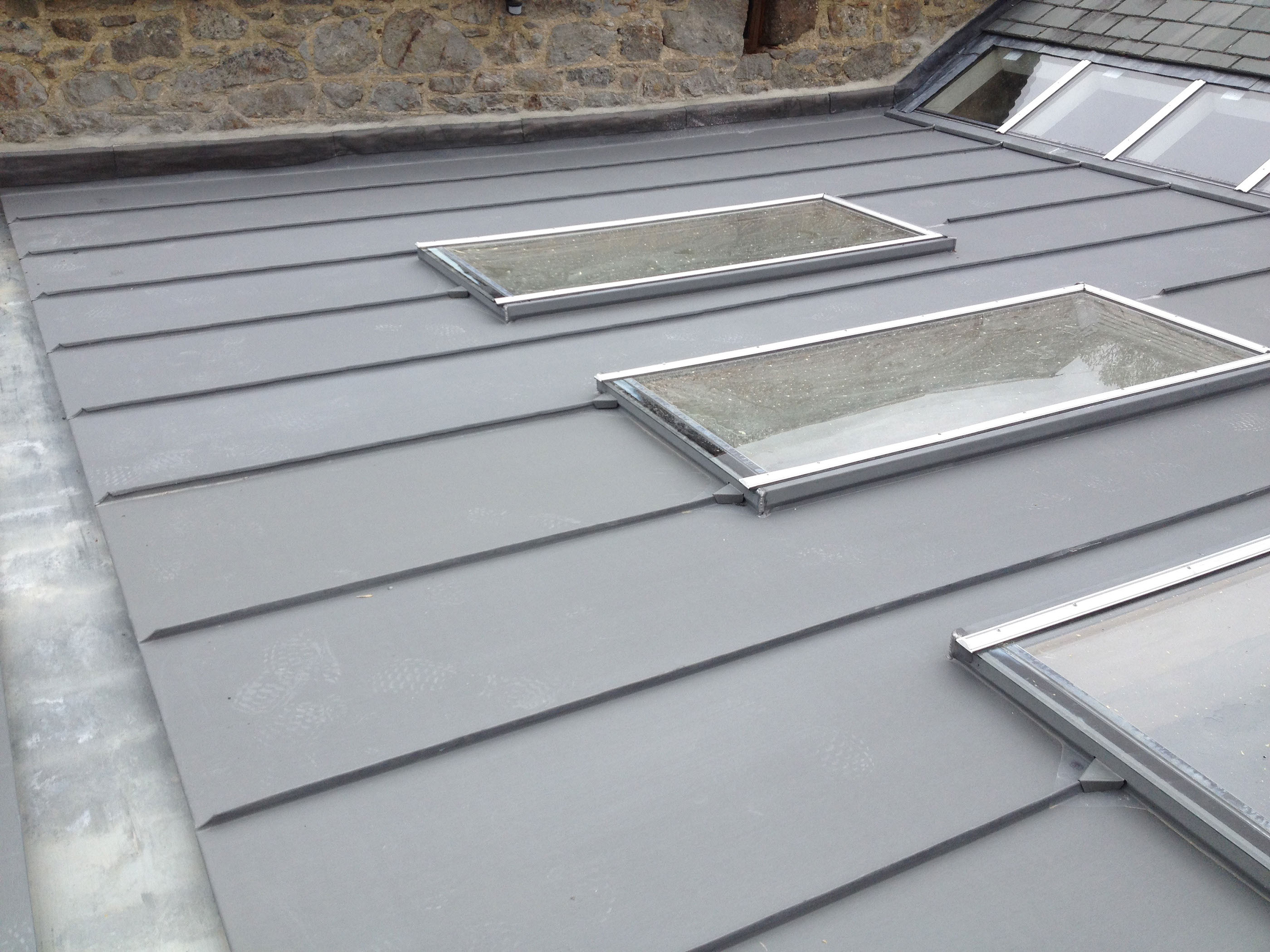Zincworks Ltd Projects Zinc Roofing Devon And The South West